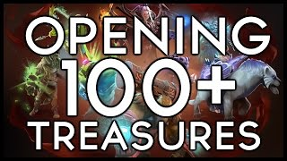 OPENING 100+ TREASURES!! Loads and loads of Immortals