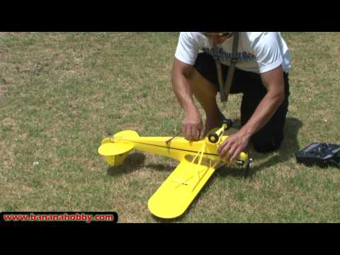Piper J-3 Cub Super Scale Ultimate RC Parkflyer! FLIGHT REVIEW in HD!