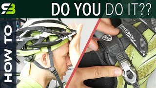 5 Most Common Mistakes In Bicycle Clothing. How NOT To Dress For Cycling.