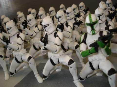 Star Wars Iii The Clone Wars Star Wars Clone Troopers
