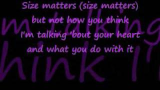 Watch Natasha Bedingfield Size Matters video