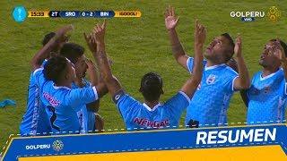 Resumen: Sport Rosario vs. Deportivo Binacional (0 - 2)