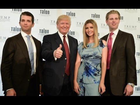 La Humilde Familia De Donald Trump...