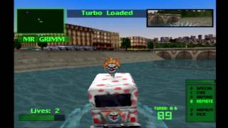 Twisted Metal 2 Sweet Tooth Touranment Playthrough HD