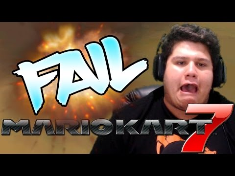 El Mayor Fail de Riser | Mario Kart 7 #4