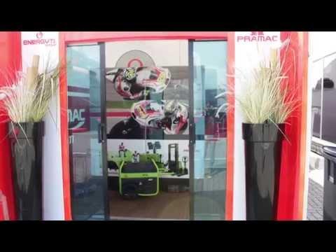 Pramac Racing hospitality MotoGP