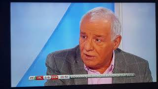 Eamon dunphy on Ireland defeat to Denmark