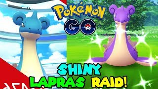 SHINY LAPRAS RAID DAY IN POKEMON GO