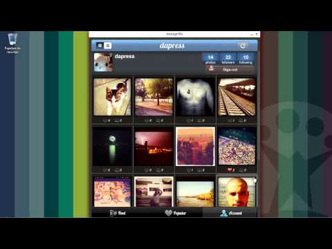 Instagram en Windows gracias a Instagrille