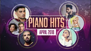 Piano Hits .? ? Pop Songs April 2018 : Over 1 hour of Billboard hits - music for classroom ,study