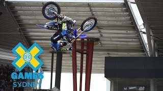 WATCH LIVE: Moto X Best Whip and Best Trick at X Games Sydney 2018