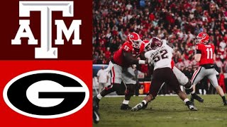 Texas A&M vs #4 Georgia Highlights  NCAAF Week 13  College Football Highlights