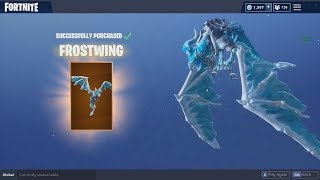 "Ice Dragon Glider In Fortnite ""Frost Wing"" 