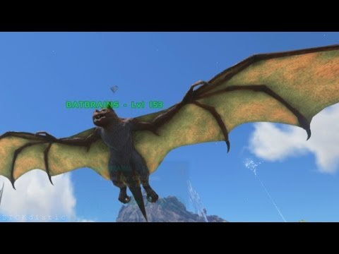 EASY ONYC TAME - ARK: Survival Evolved Bat Taming