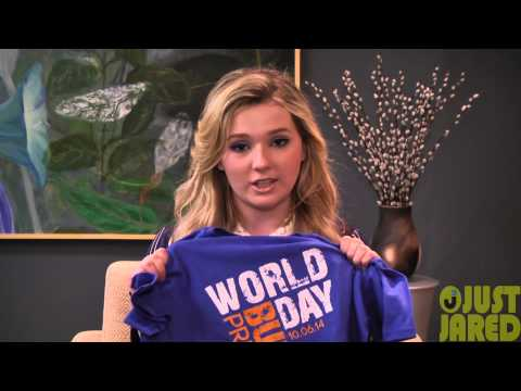 Abigail Breslin - Blue Shirt Day Bullying PSA (Exclusive)