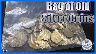 Sorting a Bag of Old Silver Coins