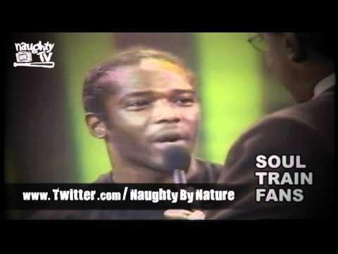 Naughty By Nature on SoulTrain (CLASSIC FOOTAGE)
