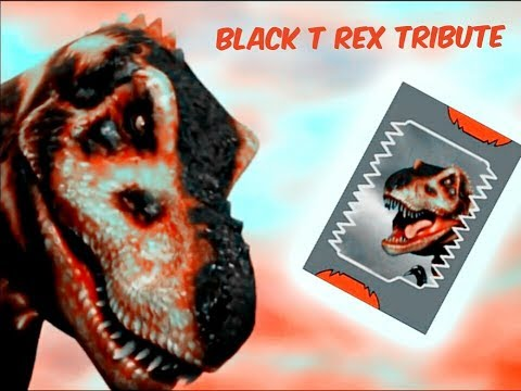 Dinosaur King Black T Rex Tribute/Animal I have Become