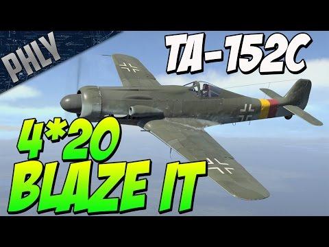 TA-152C Waste Of Time? (War Thunder Gameplay)