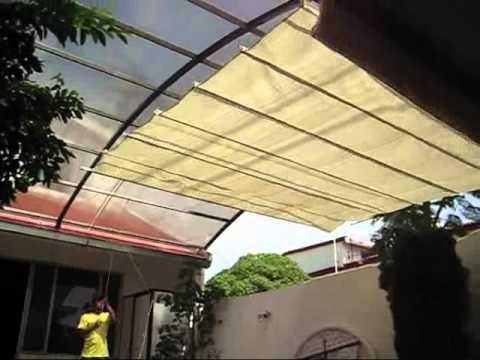 Malla sombra para casas