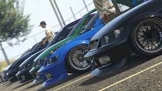 GTA 5 Online JDM Car Meet