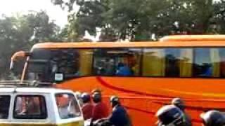Indian Team bus