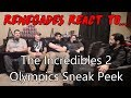 Renegades React to... The Incredibles 2 - Olympics Sneak Peek MP3