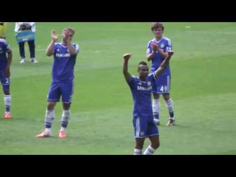 Cardiff City 1-2 Chelsea - Chelsea Fans At Full Time/Goodbye To Ashley Cole (HD)
