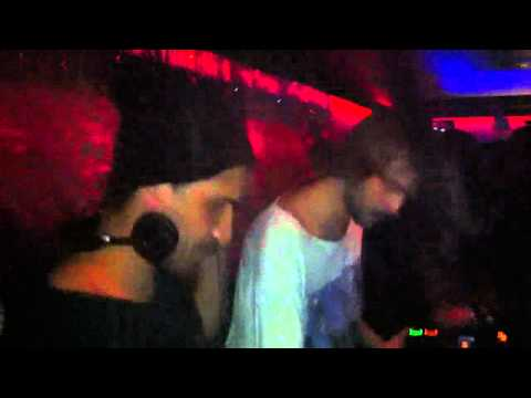Rachid &amp; Jrgen von Krebs spinnin' at Monkeys Club New Years Eve 2010/11.
