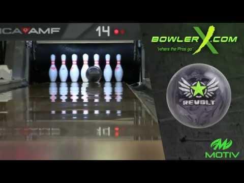 Motiv Revolt Vengeance – Bowling Ball Reaction Video – BowlerX.com