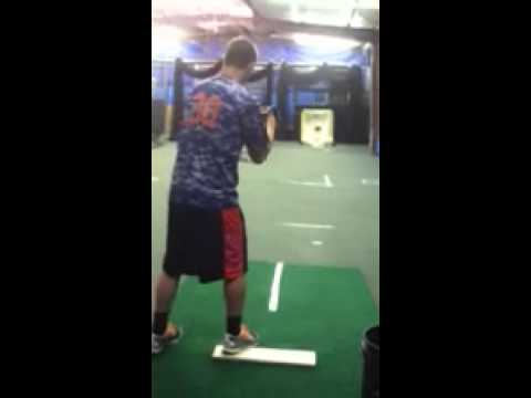 Casey Williams RHP Greenbrier Christian Academy pitching vid2