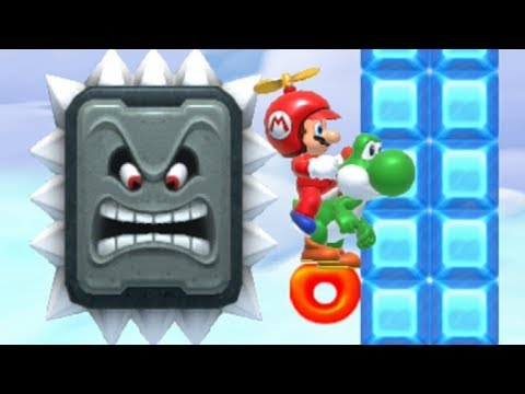 Super Mario Maker - Expert 100 Mario Challenge #16