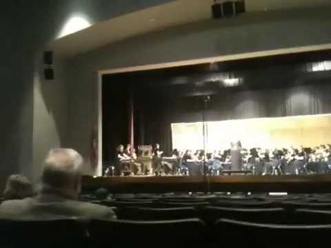 Oak Grove High School Wind Ensemble - Sheltering Sky by Joh