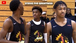 LeBron James Jr & Dior Johnson Bounce Back! SFG Wins Last Game At Peach Jam