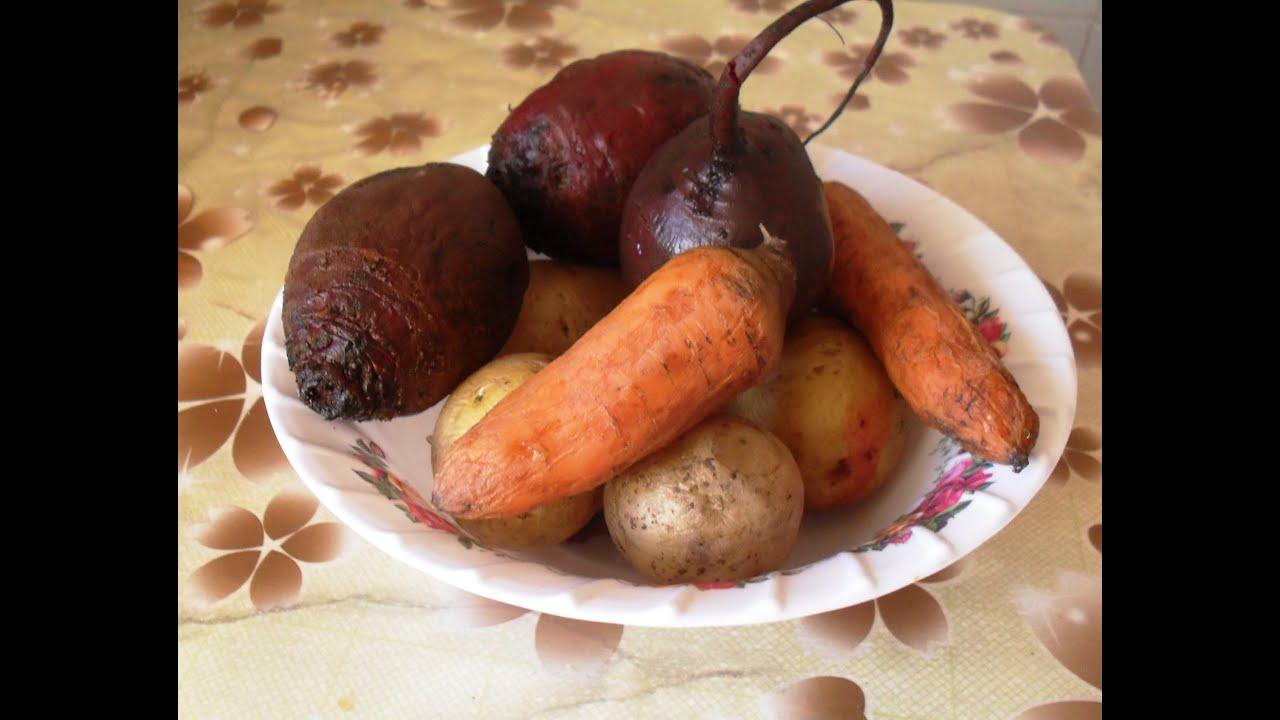 Овощи на пару для винегрета в мультиварке рецепты