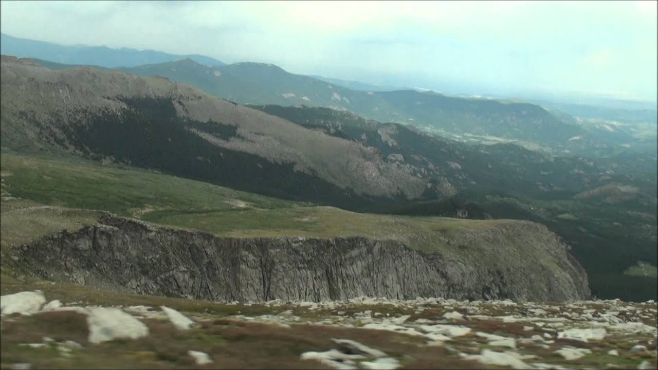 Mount Evans Scenic Byway Thrill Drive  Highest Paved Road