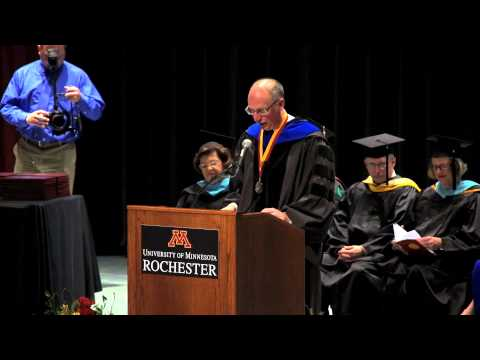 "University of Minnesota Rochester (UMR)  ""Graduation Commencement 2014"""