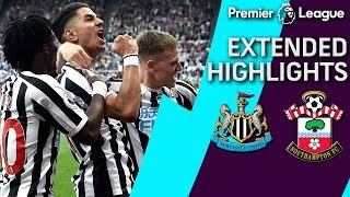 Newcastle v. Southampton | PREMIER LEAGUE EXTENDED HIGHLIGHTS | 4/20/19 | NBC Sports
