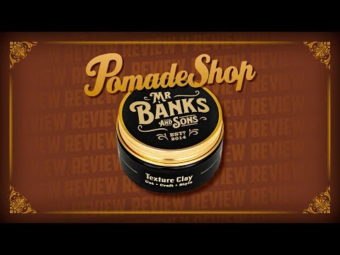 PomadeShop-Review: Mr Banks & Sons Texture Clay (mit Philipp) – english subtitles –