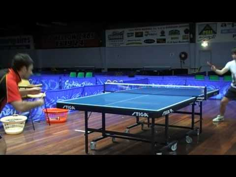 Amazing table tennis rally tricks tips butterfly zlf tenergy 05 fx
