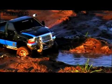 RC Ford 4x4 MuDDing and OFF ROADing!!!