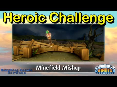 Skylanders Giants Minefield Mishap Heroic Challenge