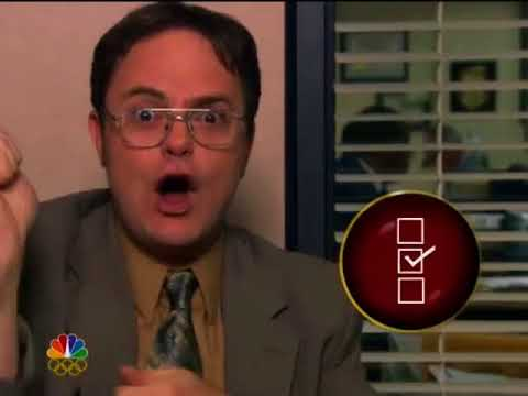 The Office Olympics Promo Dwight's Centathlon