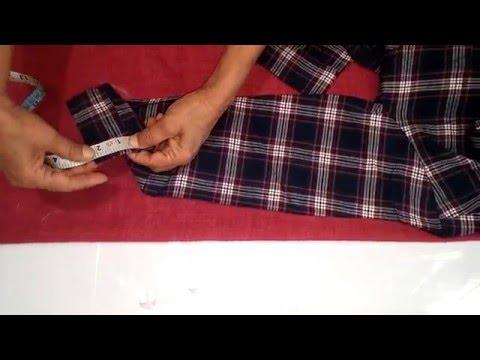 Mens Shirt Cutting and Stitching