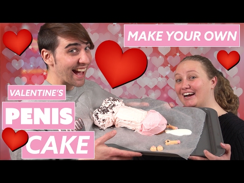 DIY Penis Cake For Valentine's Day    Chadd Callahan feat. Leah Wilkinson (WitY)