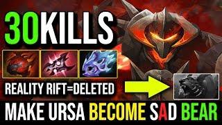 How to Make Ursa Become a Sad Bear [Chaos Knight] Reality Rift=Deleted 30Kills By Babyknight DotA 2