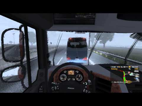 Euro Truck Simulator 2 gameplay#11 with Logitech G27 -