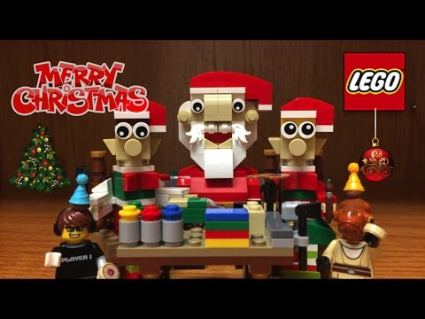 LEGO Christmas 2016 Elf Helpers Set Review & MERRY CHRISTMAS