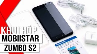 FPT Shop - Khui hộp Mobiistar Zumbo S2: Selfie 13 MP, RAM 3GB, Android 7, giá dưới 4 triệu
