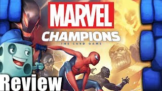 Marvel Champions: The Card Game Review - with Tom Vasel